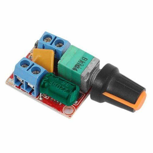 DC Motor Speed Control Driver Board 3V-35V 5 A Contrôleur PWM variateur continu DC 3 T9 1X