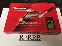 Bonus Deal Snap-on Tools Usa 1/4 Drive Green Ratchet Led Light Set Thl72