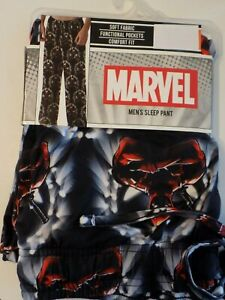 New-Men-039-s-S-L-Deadpool-Marvel-Comic-Movie-Pajamas-Lounge-Pants-with-Pockets