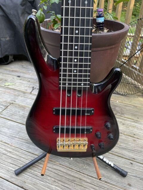 Yamaha Trb-6P Bass Red Burst 6 string Original
