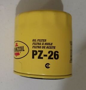 oil filter penzoil pz-26 spin on