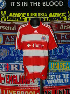 new concept 4f2f5 63938 Details about 5/5 Bayern Munich boys 12 years 152cm mint football shirt  jersey trikot soccer .