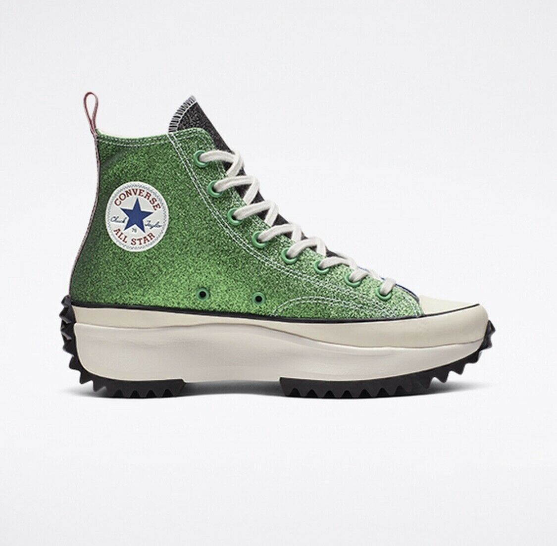 JW Anderson x Converse Run Star Hike Glitter Platform Sneakers