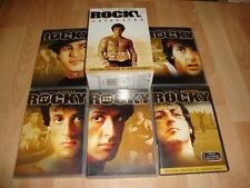 ROCKY COLECCION EDICION ESPECIAL 25 ANIVERSARIO 1- 5 DVD EN BUEN ESTADO