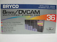 Small Dvcam Tape Rack Storage For 36 Sony Or Panasonic Hdv Digital Master Tapes