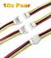 20 Stück 15cm 26AWG Kabel 10 Paar Walkera Molex 4 Pin 2.0 Molex Stecker