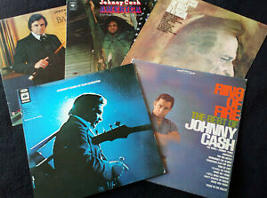 JOHNNY-CASH-5Lp-039-s-AT-SAN-QUENTIN-RING-OF-FIRE-THE-BARON-AMERICA-amp-WALLS-O