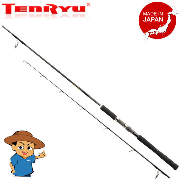 Tenryu SPIKE TUNA SK862TN-L 8'6  lure casting fishing spinning rod pole JAPAN
