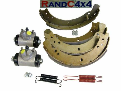 6042 Land Rover Series 2 2a 3 SWB 88 Front Brake Shoe /& Wheel Cylinders Kit to80