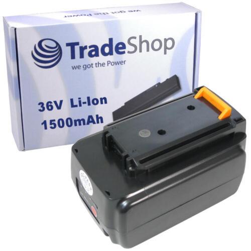 Premium AKKU 36V 1500mAh Li-Ion für Black/&Decker GLC3630L GWC3600L GLC3630L20