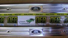 Door Sill Plates Pair Riveted GM w/screws 67-69 Camaro Firebird GM Resto plate