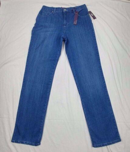 Vanderbilt Moyenne Amanda Femmes Nouveau Bleu 6 Gloria Jeans Taille Coupe pour Classique Taille Ow5AA7Zq