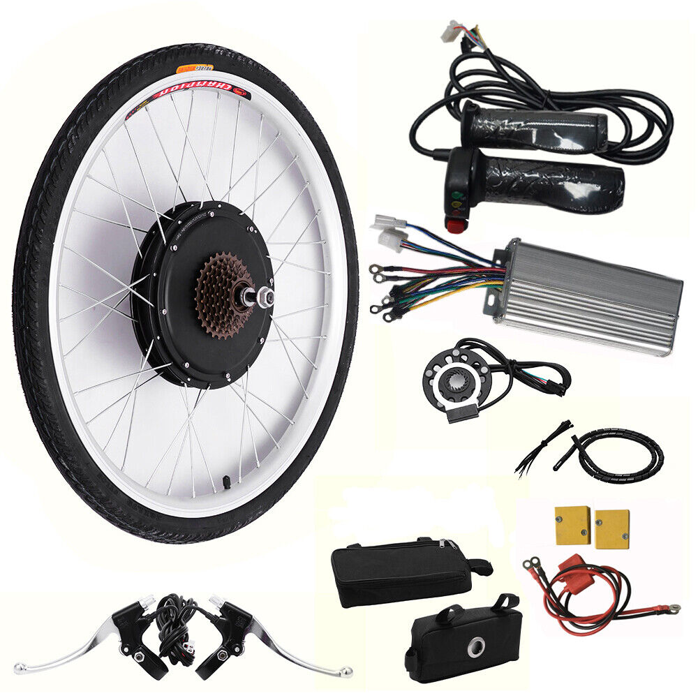 26  E-Bike Conversion Kit Umbausatz Rearmotor Hinterrad Ebike Pedelec 250W 36V