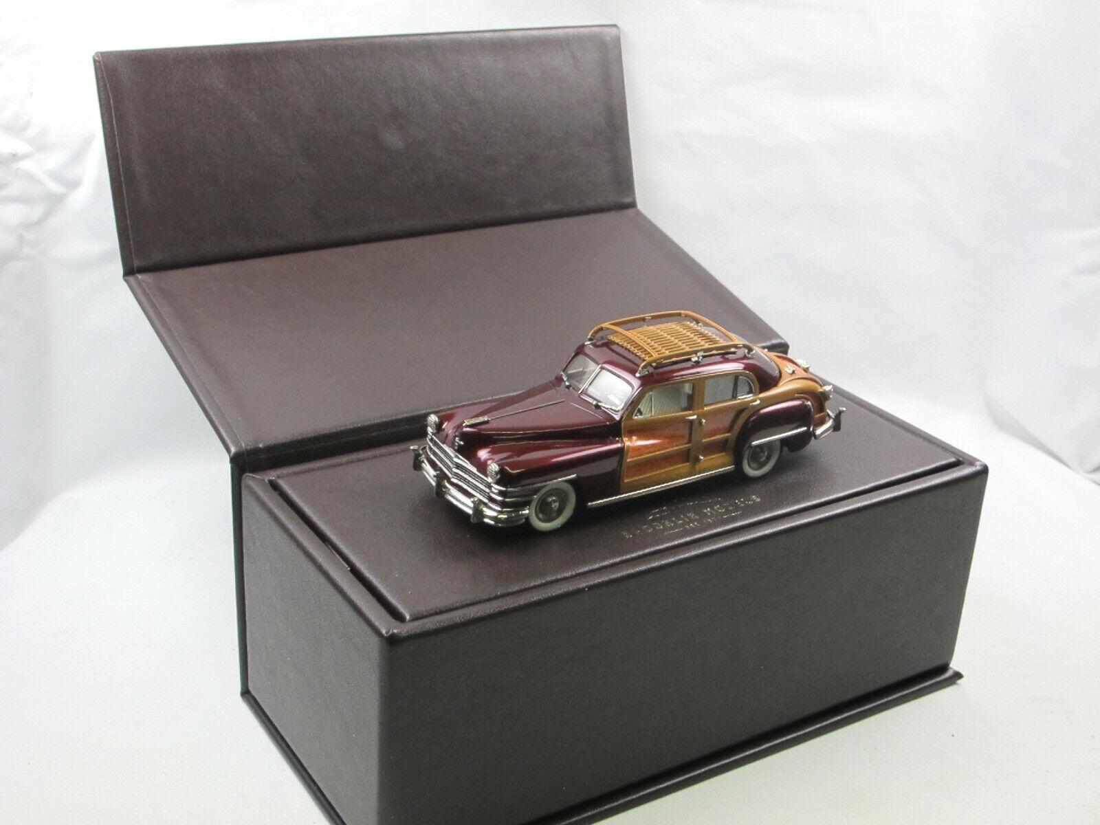 Brooklin Models BML 14 1947 Chrysler Windsor Town & Country Sedan Woodie 1 43  | Hochwertig