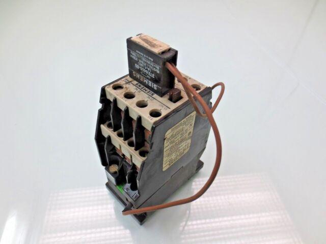 siemens 3tb41 17 0a contactor 120v coil ebay rh ebay com