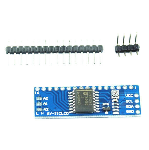 IIC//I2C Serial 1602 LCD Interface Adapter Board Module USA 5V V6S0