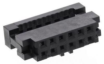9 Stueck 2,54mm Pitch Doppelreihe 40 Pin IDC Sockel Stecker Maennlich Stiftleist