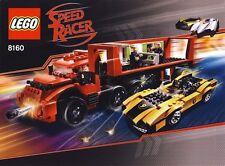 LEGO 8160 - SPEED RACER - Cruncher Block & Racer X - 2008 - NO BOX