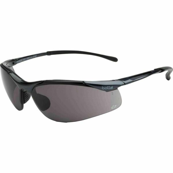Smoke Lens SUNGLASSES Safety Cycling Skiing Glasses NEW Sealed Plus BOLLE Rush