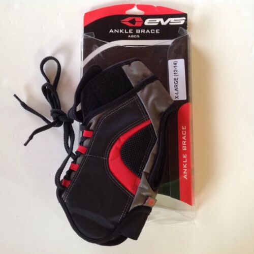 New EVS Protective Gear AB05 Ankle Brace XL(12-14) Black