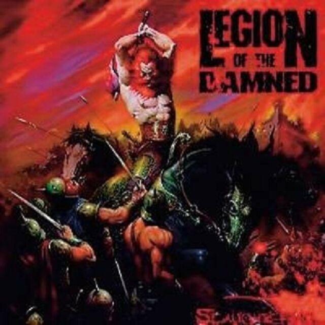 "LEGION OF THE DAMNED ""SLAUGHTERING (LIVE)"" 2 DVD+CD NEU"