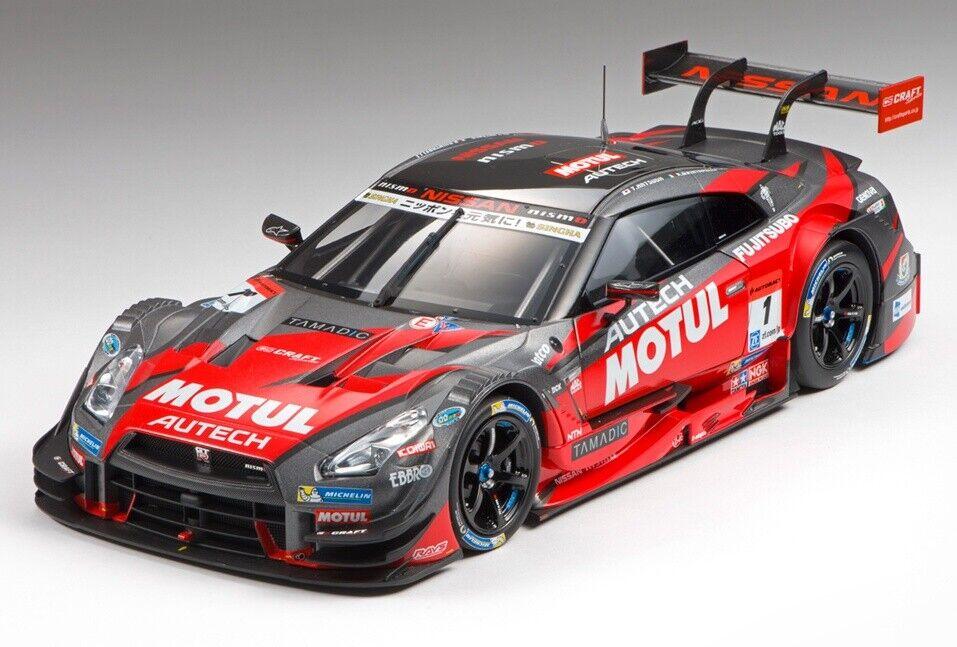 ordene ahora los precios más bajos Ebbro 81022 1 18 Motul Autech GT-R GT-R GT-R súper GT500 2015 RD 1 Okayama  1 Rojo  más descuento