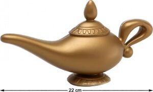 Détails Sur Lampe Du Genie Accessoire Déguisement Aladin Arabe Dessin Animé Neuf Pas Cher
