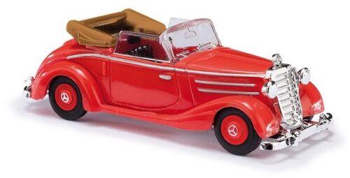 Busch 40510-1//87//h0 mercedes-benz 170s cabrio rojo-nuevo abierta