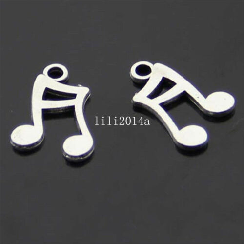 30pc Bank of Tibet music Symbol Pendant Charm Beads accessories  PL080