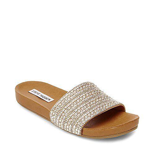 Steve Sandale- Madden Damenschuhe Dazzle Flat Sandale- Steve Pick SZ/Farbe. a6364b