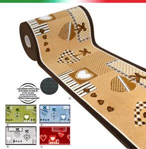 Tappeto-cucina-passatoia-antiscivolo-piu-colori-7-MISURE-bordate-mod-FAKIRO21