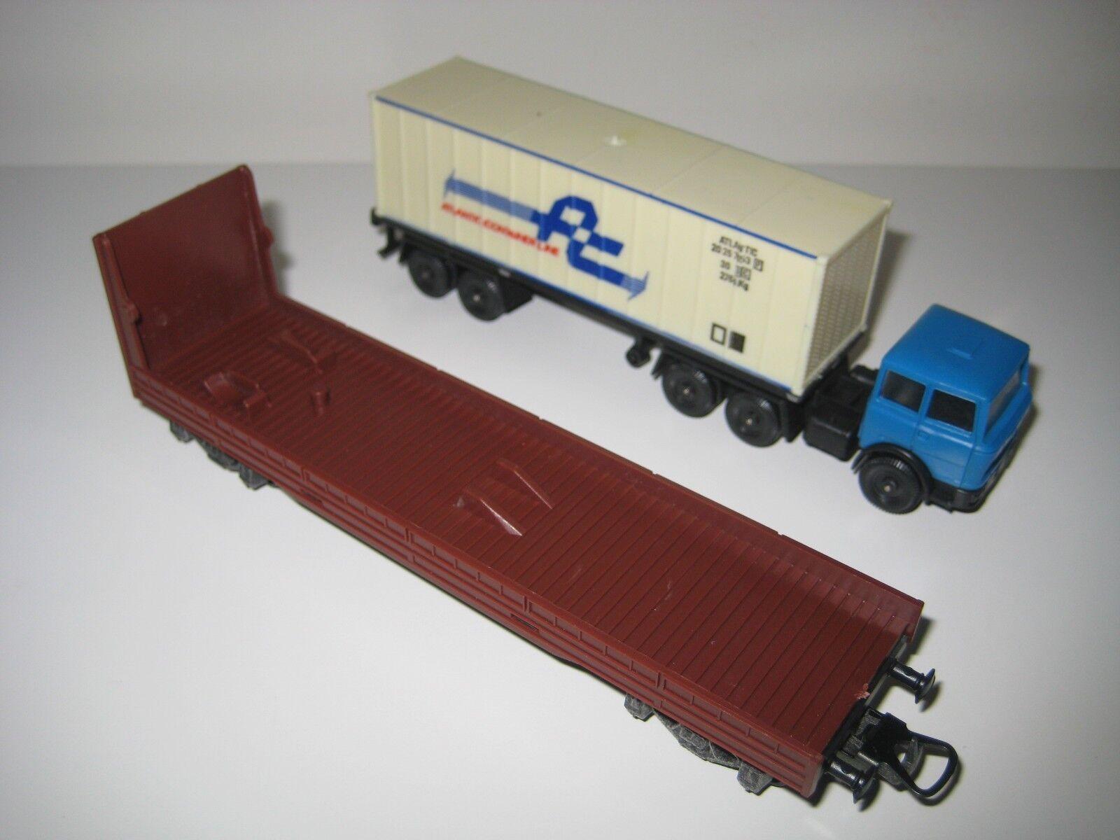 Lima H0 60 0990 Set Set Set de grúa, contenedor, camión y plataforma | Dans Un Style élégant  fe4320