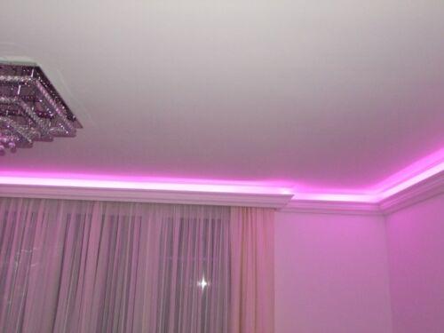 18m LED Lichtprofil Indirekte Beleuchtung LED Decken Stuckleiste Profil BL 03