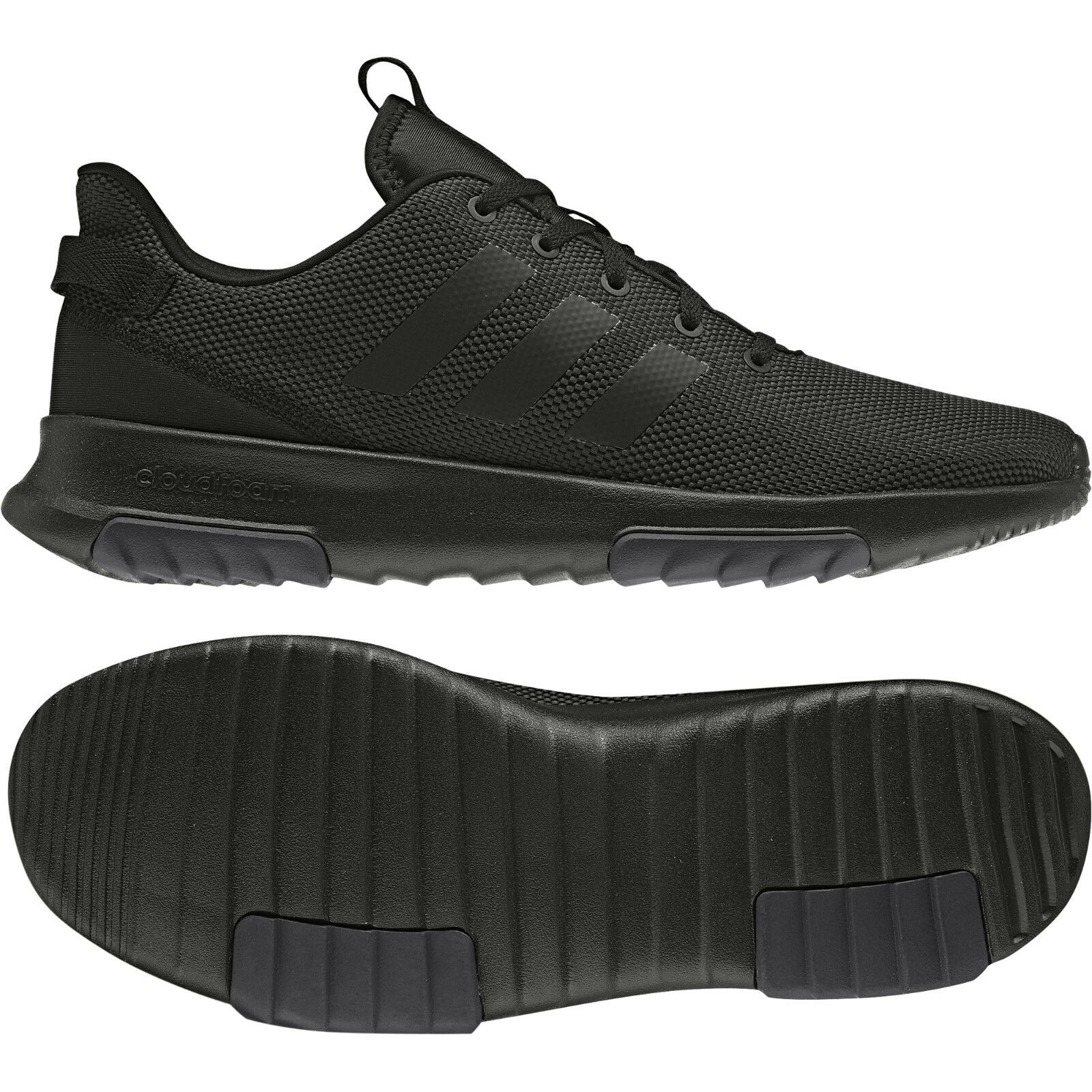 Adidas Neo Homme Chaussures Cloudfoam Racer TR Running Training Trainers Gym B43651 New