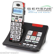 Amplified Answering Machine Slow Play Cordless 55+ db Loud Speaker Phone CL60A