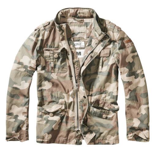 de Jacket Men usado campo Jacket Look Britannia Chaqueta Brandit anS6O