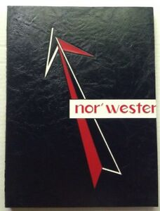 Details about 1968 NORTHWESTERN HIGH SCHOOL YEARBOOK, THE NOR'WESTER,  VOLUME 1, BALTIMORE, MD