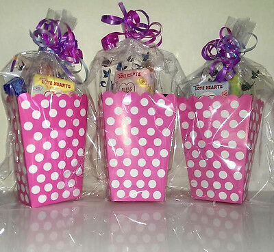8 x Girls Teenagers Ladies Hens Luxury Pre Filled Party Bags Wedding Favours