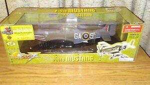 21st Century #13316S3 - P-51D/K - GAS - R.A.F. Royal Air Force - Mk. IV NIB