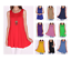 Women-Long-Tunic-Dress-Tank-Top-Sleeveless-Scoop-Neck-Solid-Shirt-SML-1X-2XL-3XL thumbnail 1