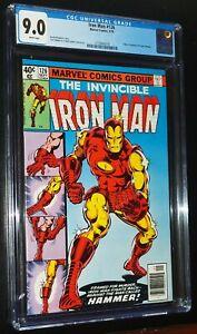THE-INVINCIBLE-IRON-MAN-126-1979-Marvel-Comics-CGC-9-0-VF-NM