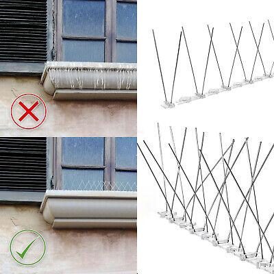 Fassade Sonstige Klug Möwenabwehr Edelstahl 4 Modelle Schwalbenabwehr Vogelschreck Dachrinnenschutz Gute QualitäT
