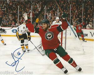 Minnesota-Wild-Jason-Zucker-Autographed-Signed-8x10-COA-A
