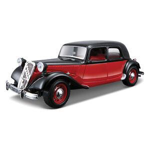 CITROEN-15-Cv-1-24-escala-Diecast-Modelo-Die-Cast-Vintage-modelos-de-automoviles