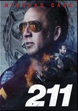 211 (dvd 2018) Nicolas Cage Sophie Skelton Dwayne Cameron