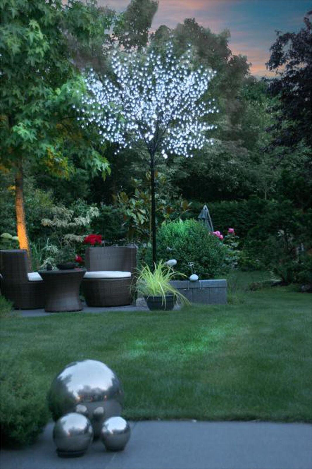 Weihnachtsbaum Cherry Lichterbaum Lichterbaum Lichterbaum Baum LED kaltweiß 1200 LEDs 3,5 m IP44 TÜV GS   Feinen Qualität  17e254