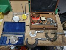 Machinist Measuring Tools Lot Mitutoyo Nsk Federal Brownampsharpe