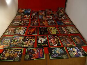 Blockbuster-Game-Tips-Trading-Cards-Sega-Genesis-Super-Nintendo-SNES-Lot-of-39
