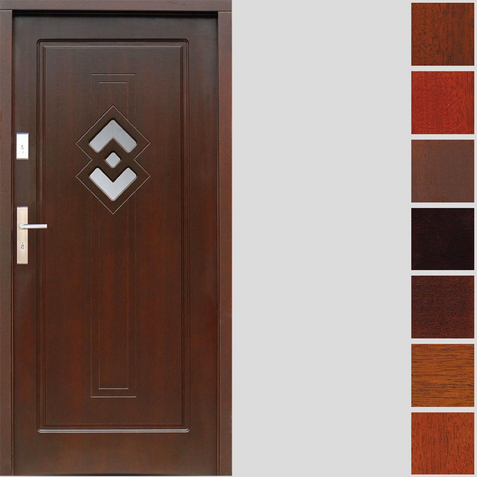 holzau ent r hrejtie t r haust r eingangst r t rplatte holtzt r 80 100 7 farben ebay. Black Bedroom Furniture Sets. Home Design Ideas