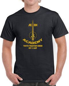 055-Jedi-Academy-mens-t-shirt-funny-geek-star-lightsaber-wars-nerdy-costume-new